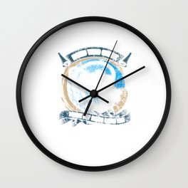 Does This Make My Bass Look Big Distressed Wall Clock