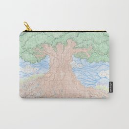 Roots and Leaves Carry-All Pouch