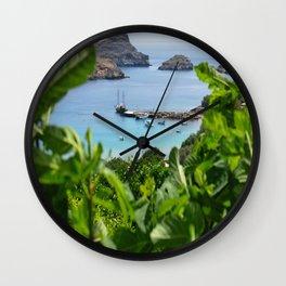 Sea View II Wall Clock