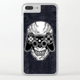 Skull Gamers Clear iPhone Case