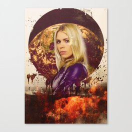 Doctor Who: Rose Tyler Canvas Print