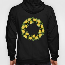 Watercolor Lemons Hoody