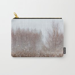 Colors of Winter Carry-All Pouch