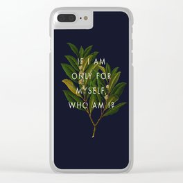 The Theory of Self-Actualization II Clear iPhone Case