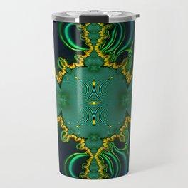 Emerald Art Travel Mug