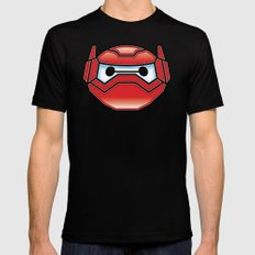 Robot in Disguise Mens Fitted Tee MEDIUM Black