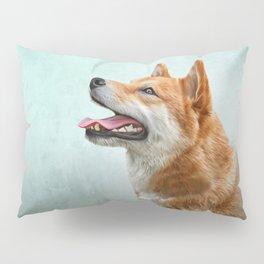 Drawing Japanese Shiba Inu dog 2 Pillow Sham