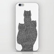 Three Owls iPhone & iPod Skin
