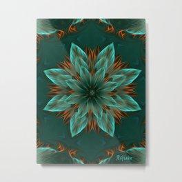 The flower of hope  Metal Print