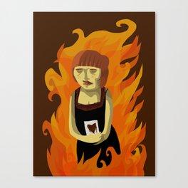 Creator Destroyer Canvas Print