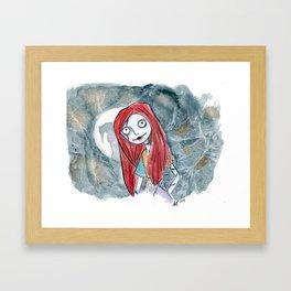 Sally Doll Framed Art Print