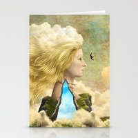 aurora Stationery Cards featuring Aurora by Diogo Verissimo