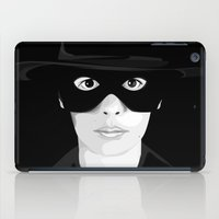 audrey iPad Cases featuring Audrey by Priscila Floriano
