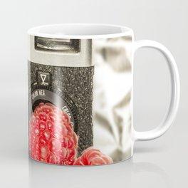 Raspberry Rollei Coffee Mug