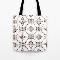 navajo Tote Bags featuring Navajo  by CrystalFairy