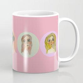 Cool Girls With Cool Hair Club Coffee Mug