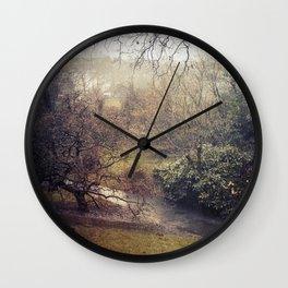 Rainy afternoon  Wall Clock