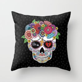 Lost Love BLACK Throw Pillow