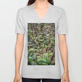 Rainforest Jungle Unisex V-Neck