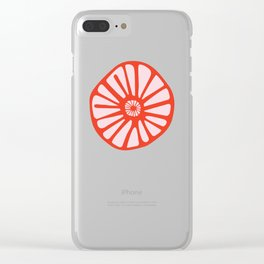 Little Cherry Blossom Clear iPhone Case