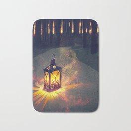 Lantern - Winter - Glow Bath Mat