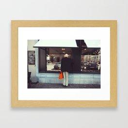 Afternoon in Bruges Framed Art Print