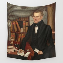 Vermont Lawyer Oil Painting by Horace Bundy Wall Tapestry