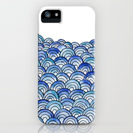 That Endless Rolling Blue iPhone Case