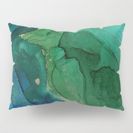 Ocean gold Pillow Sham