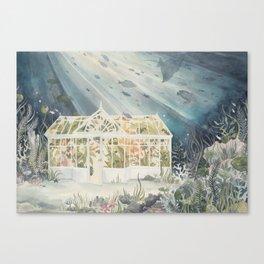 Underwater Greenhouse Canvas Print