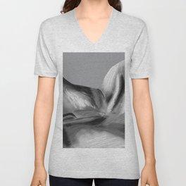 nude in gray Unisex V-Neck