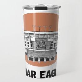 Auburn Print Travel Mug