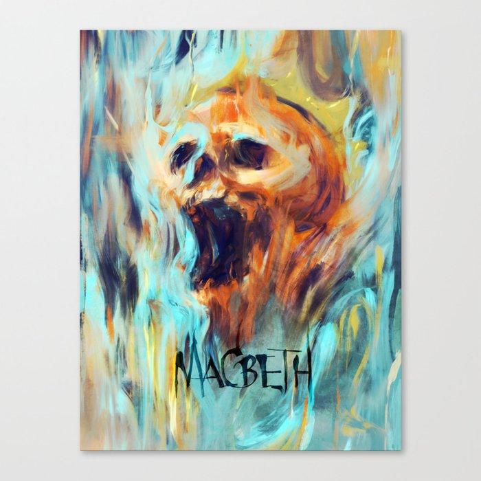 Macbeth Poster - Original Art by Kyle T. Webster Canvas Print