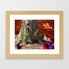 Lavas Quarrel Framed Art Print