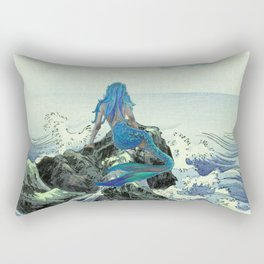 Beauty Mermaid Rectangular Pillow