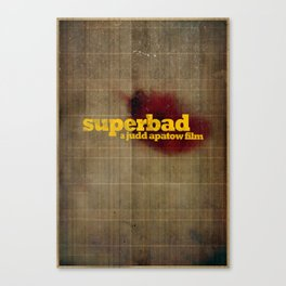 Superbad - Blood Brothers Canvas Print