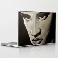 elvis Laptop & iPad Skins featuring ELVIS by John McGlynn