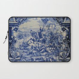 Portuguese traditional tile artwork Laptop Sleeve
