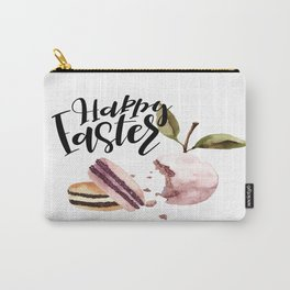 Happy Easter - Macaroon & Fruit  Carry-All Pouch