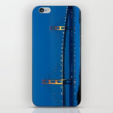 Mackinac Bridge at Blue Hour iPhone & iPod Skin