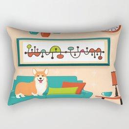 A Corgi Makes A House A Home Rectangular Pillow