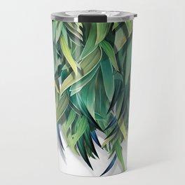 """""""Spring Forest of Surreal Leaf"""" Travel Mug"""