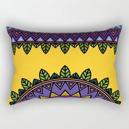 dp058-2 Ethnic mandala Rectangular Pillow