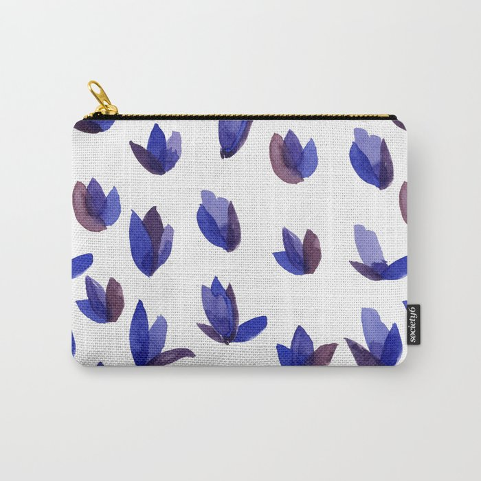 Read My Tulips Carry-All Pouch