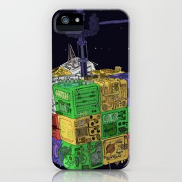 Computronium iPhone Case