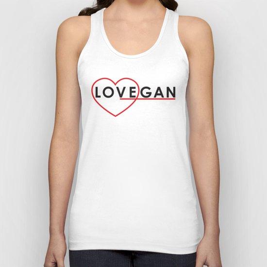 LOVEGAN (Love Vegan) Unisex Tank Top