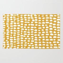 Dots / Mustard Rug