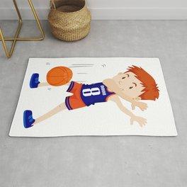 Dab Dabbing Basketbal Funny Rug
