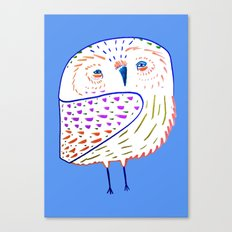 owl print, owl illustration, owl art, owl Canvas Print
