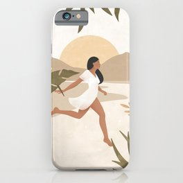 Magic Happens when you Don't Give Up iPhone Case